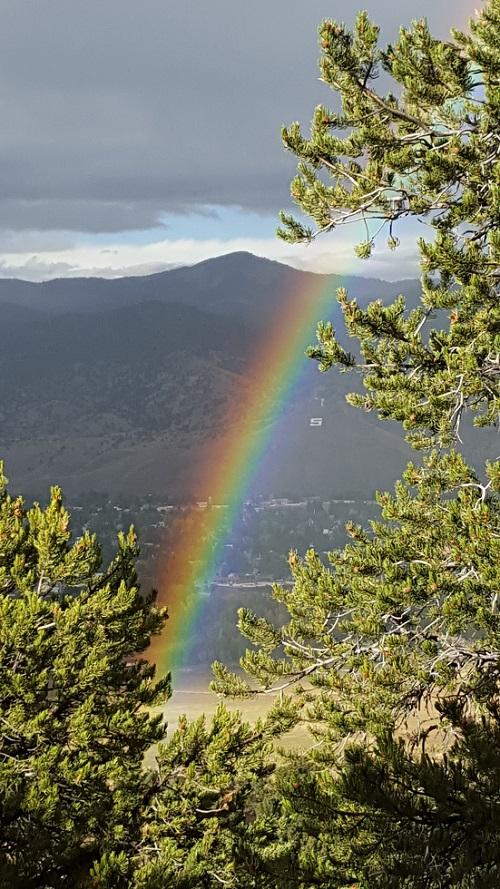 Salida Rainbow